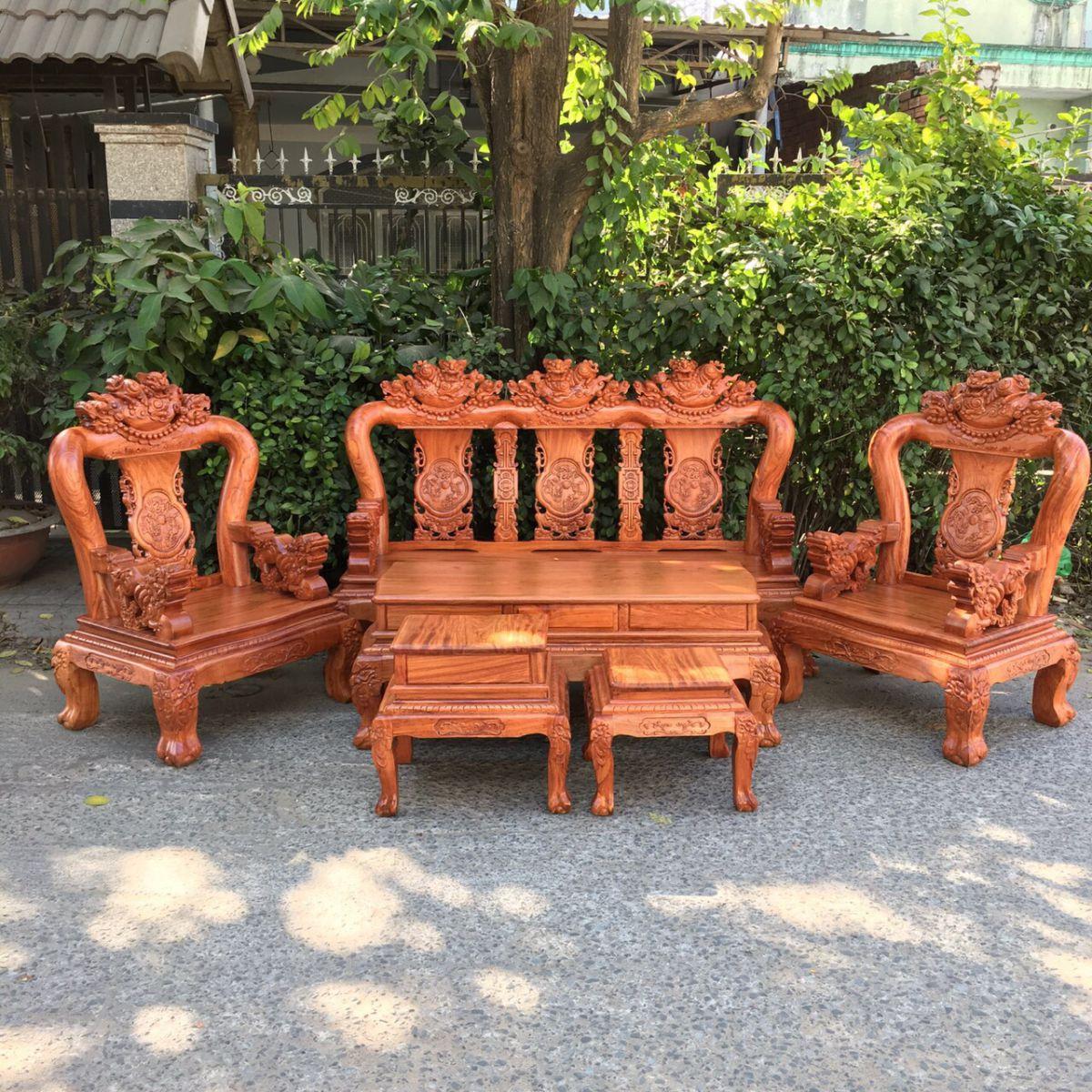 salon gỗ hương đá - ĐỒ GỖ CƯỜNG NGA