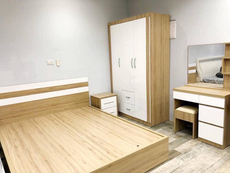 giường gỗ công nghiệp hải phòng