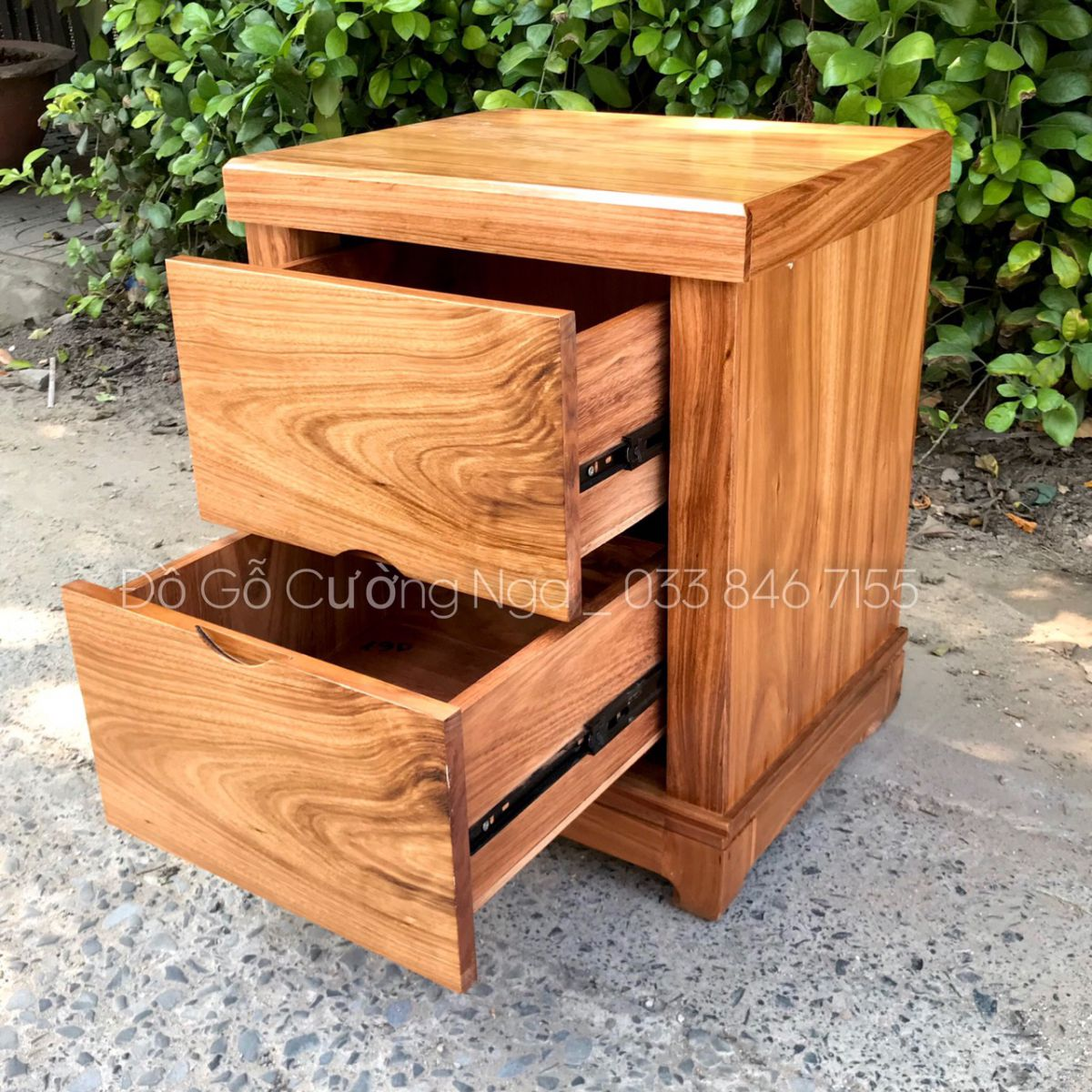 tủ đầu giường gỗ