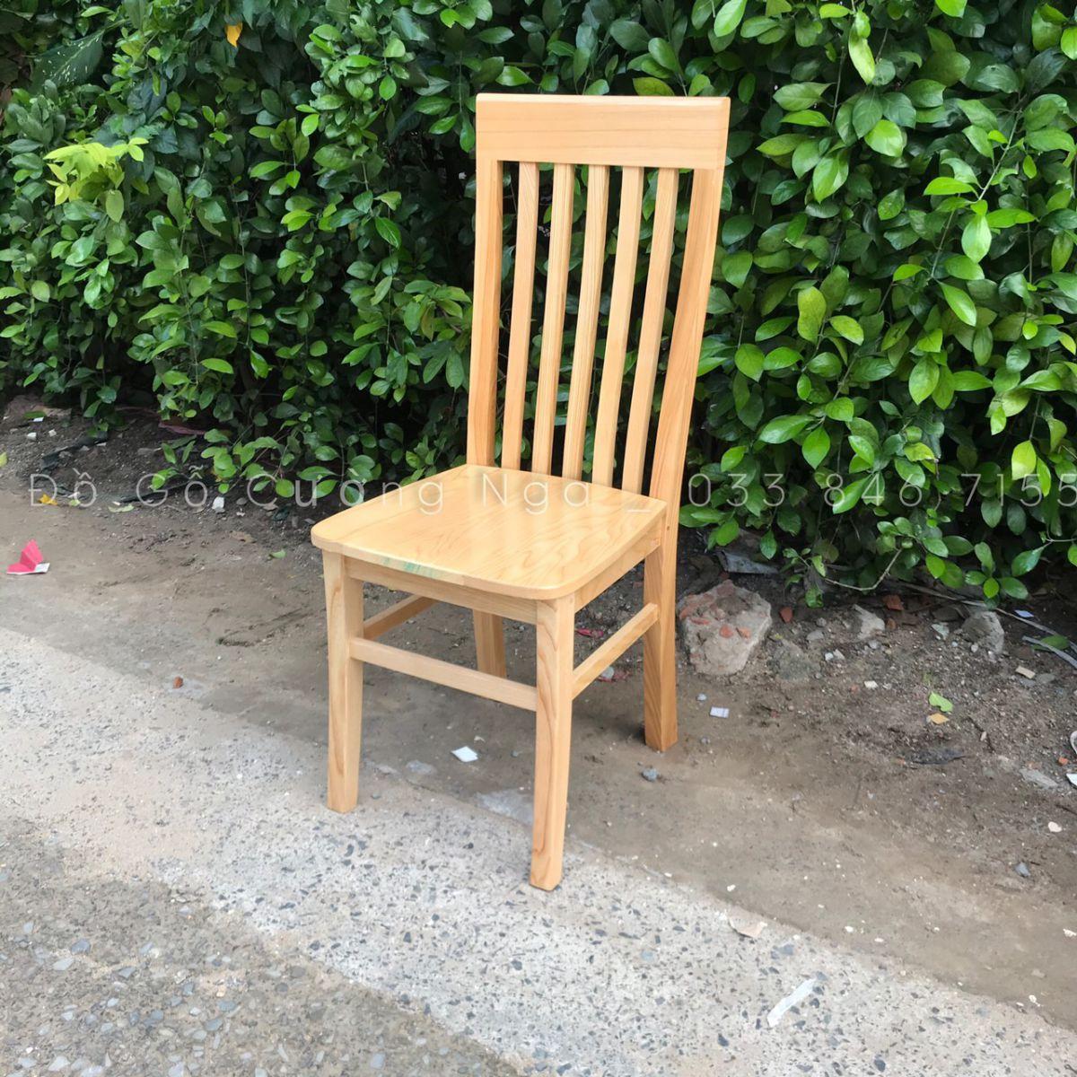 ghế ăn gỗ sồi nga