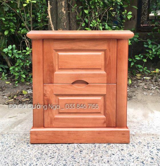 tủ đầu giường gỗ xoan đào