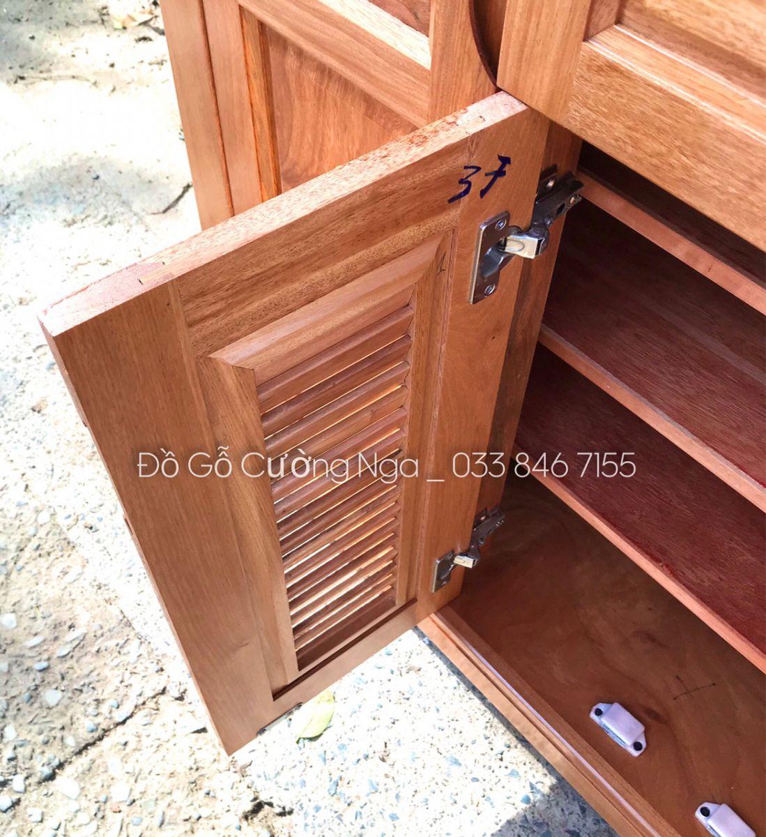 Tủ giày dép gỗ