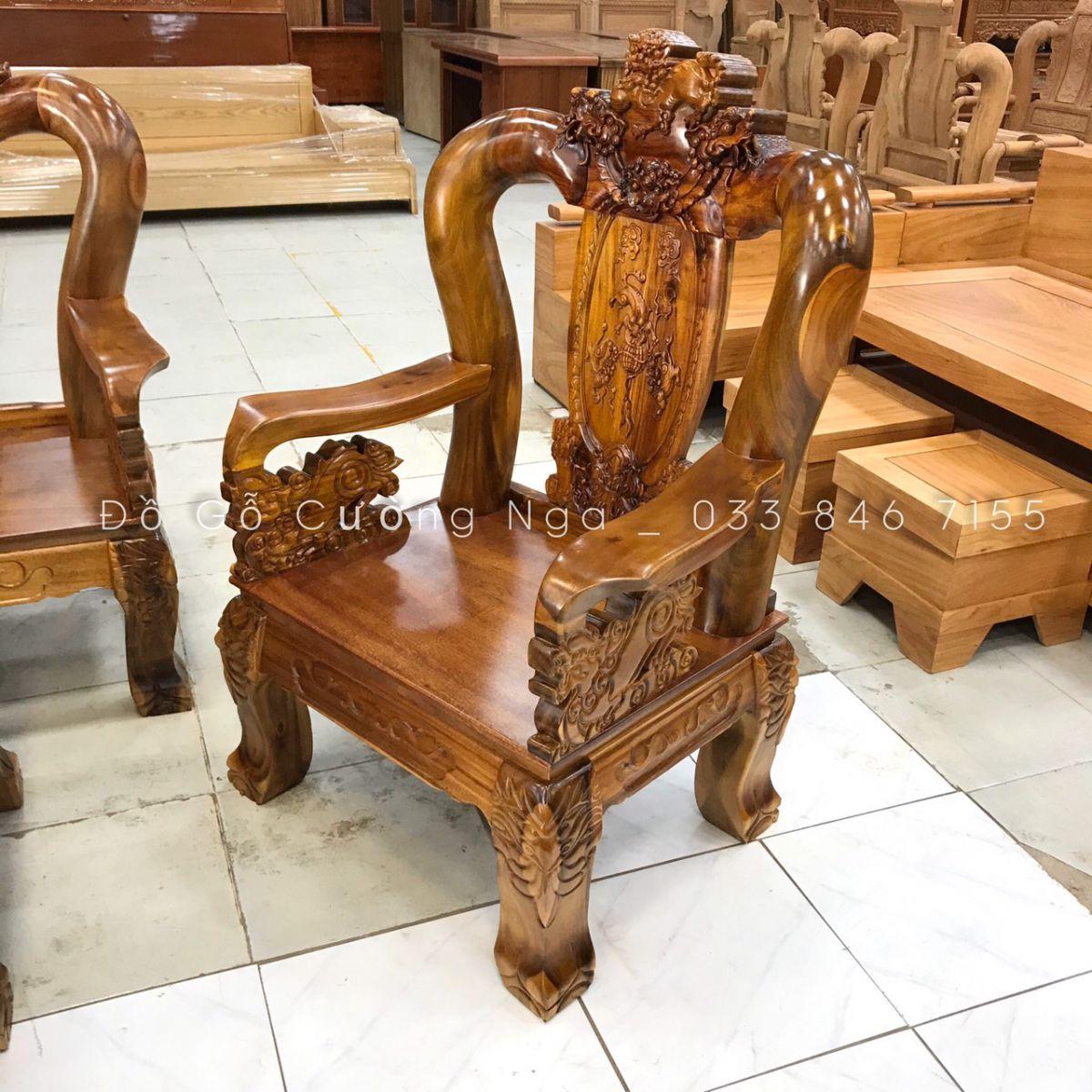 salon gỗ tràm